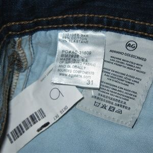 Ag Adriano Goldschmied Jeans - Adriano Goldschmied Matchbox Slim Straight Jeans